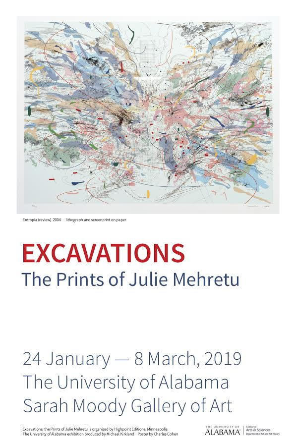 "Entropia (review)"" by Julie Mehretu Edition of 45 