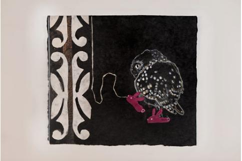 Slippers by Julie Buffalohead