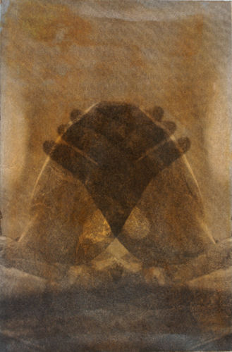 """Gesture XV 2/16"" by Linda Schwarz 2002"