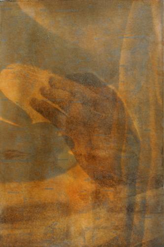 """Gesture XV 4/16"" by Linda Schwarz 2002"