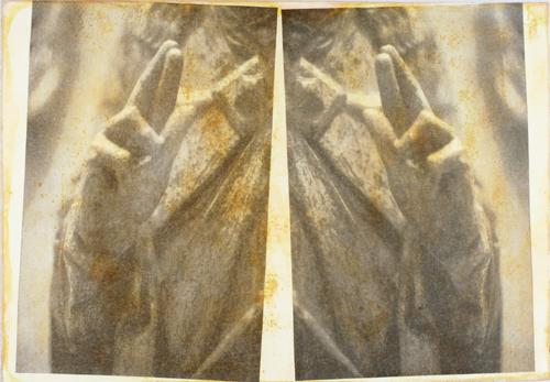 """""""Gesture XVII 6/11"""" by Linda Schwarz 2002"""