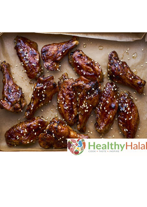 Everyday recipes healthy halal online halal meat online uk baked teriyaki chicken wings forumfinder Gallery