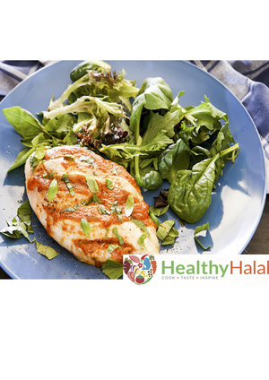 Recipe kits healthy halal online halal meat online uk next day basil pesto hasselback chicken forumfinder Gallery