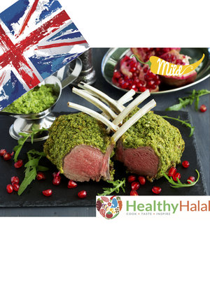 Adventures in food healthy halal online halal meat online uk british inspired minted crusted lamb rack forumfinder Images