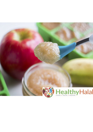 Baby food recipes healthy halal online halal meat online uk next organic simmering sweet apples with chicken forumfinder Images