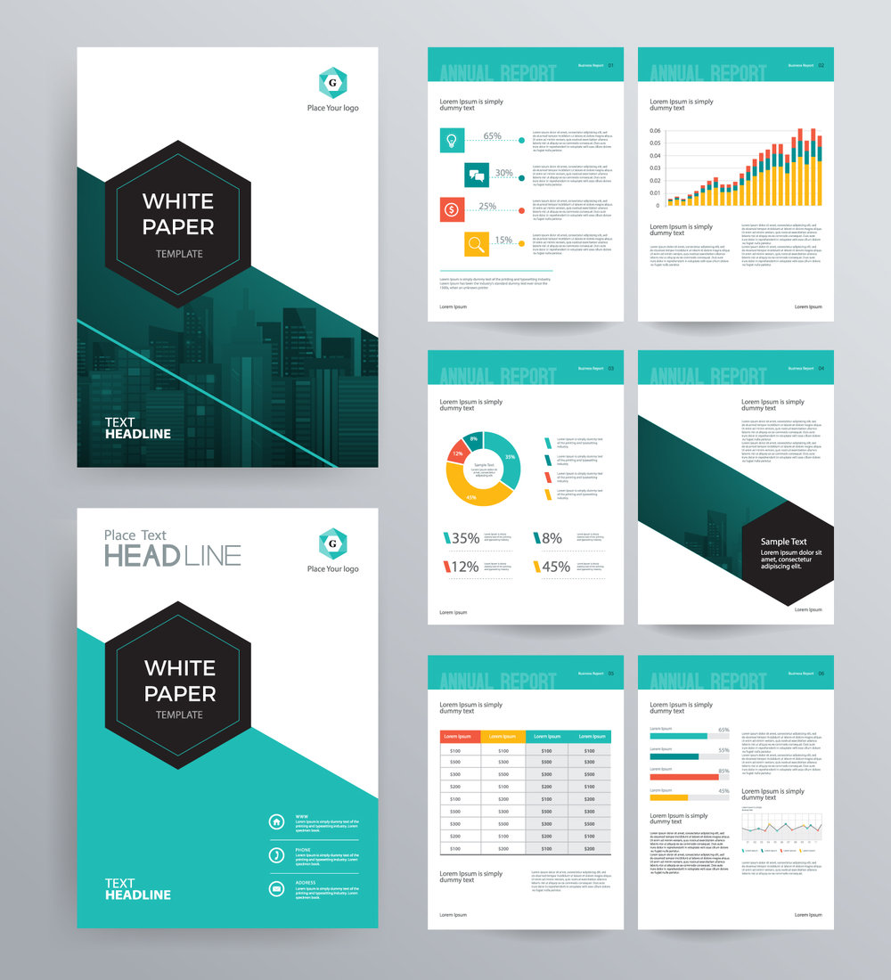White Paper Template | Ico Whitepaper Template Professional Symmetry