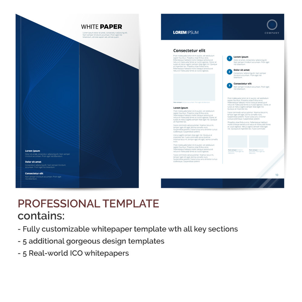 ico whitepaper template professional symmetry