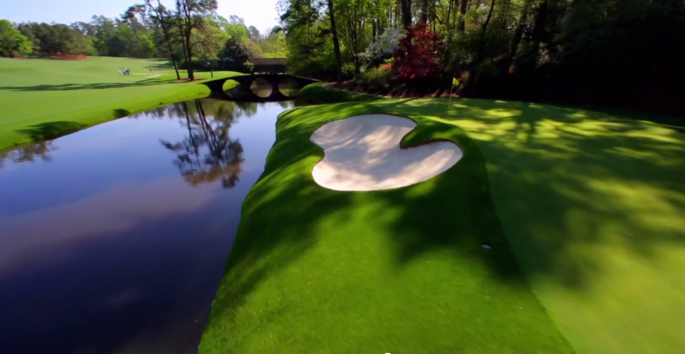 Augusta National With A Drone