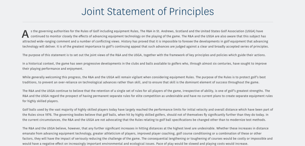 The 2002 Joint Statement Of Principles