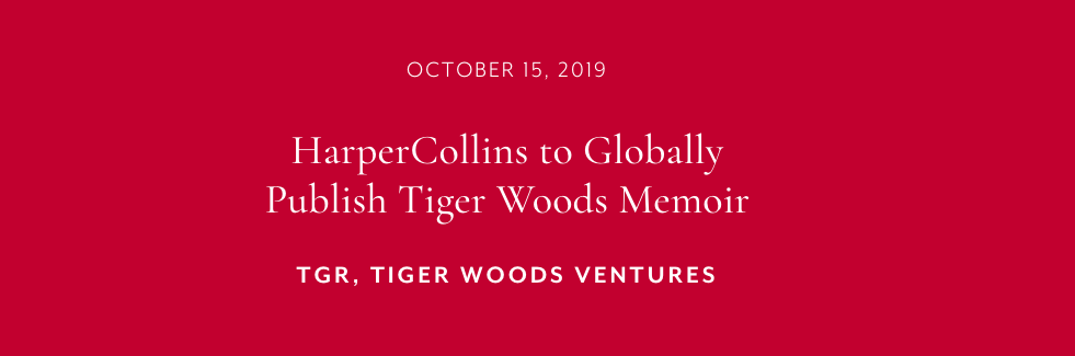 Tiger Woods Joins The Tiger Woods Book Race, But When? ? Geoff Shackelford