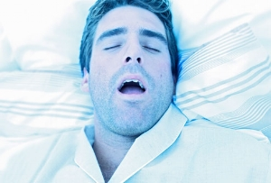 Sleep apnea - airway blocked