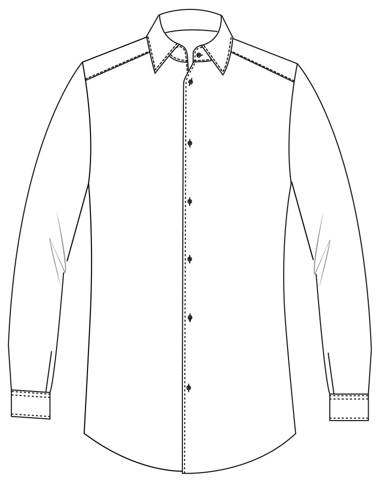 Carney custom-tailored shirt