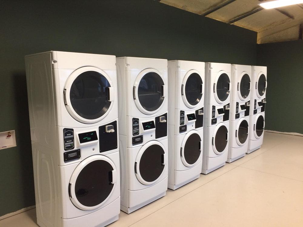 Brand new laundry machines