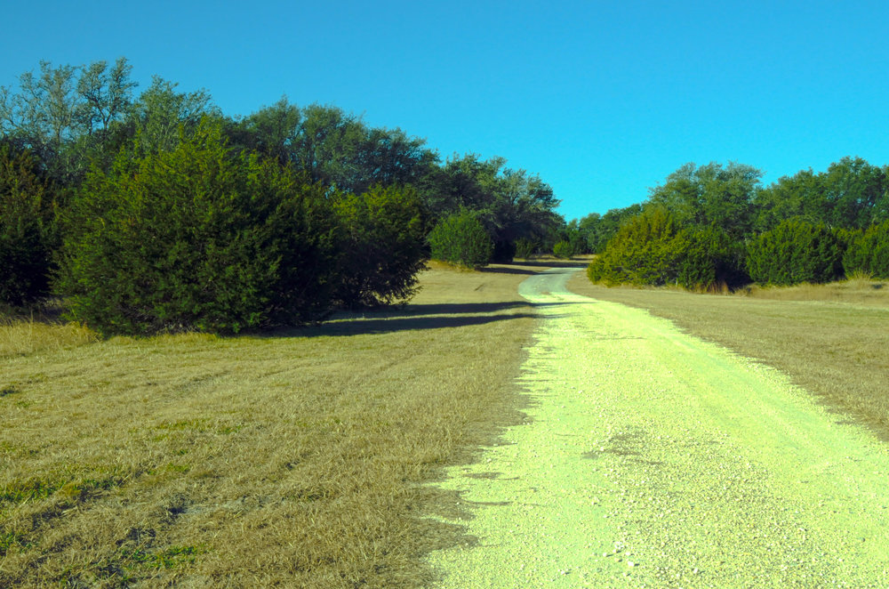 Meandering roads