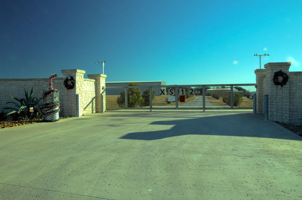 Wide entryway