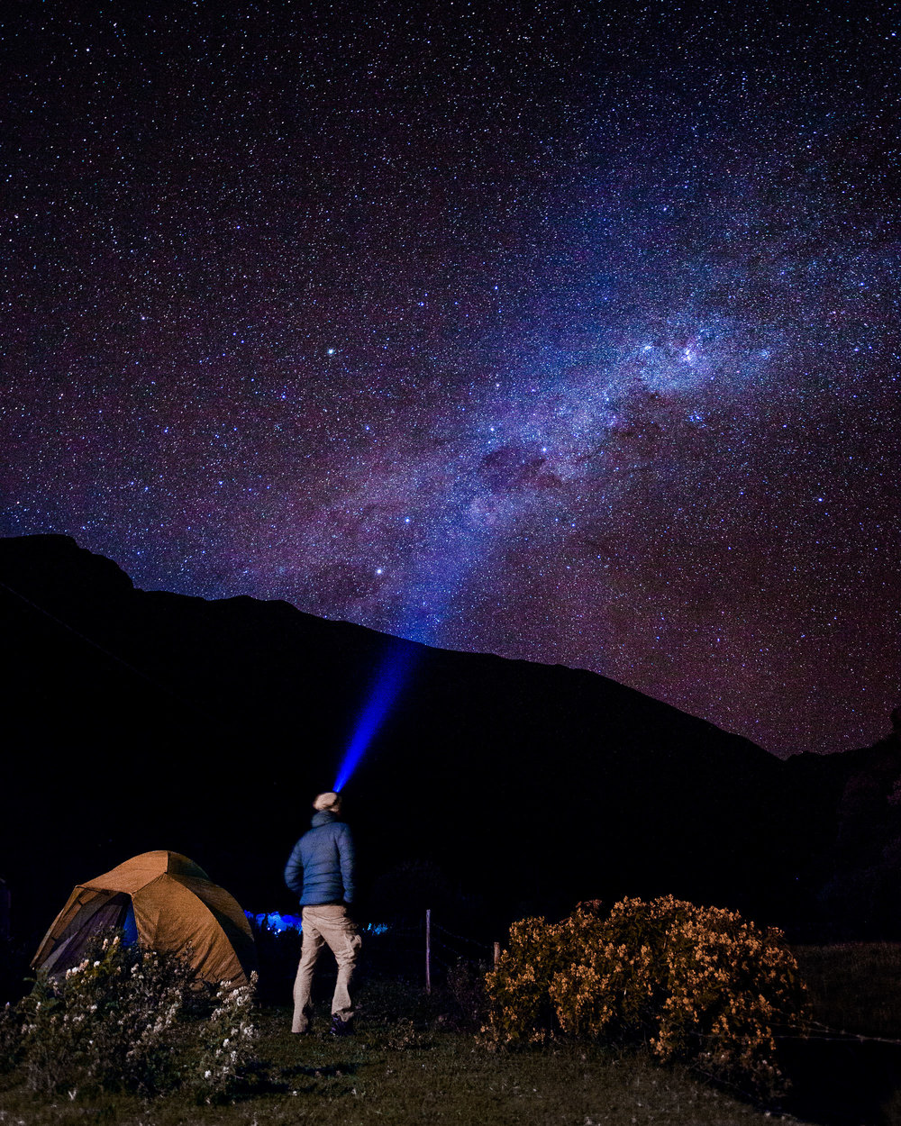Starry Sky on Inca Trail
