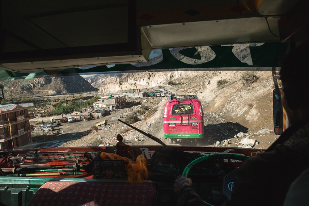 How to Prepare for Trekking the Annapurna Circuit - Busses