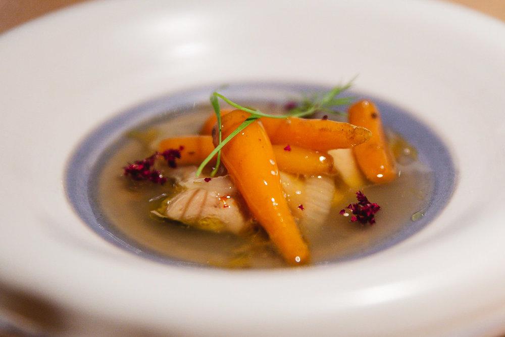 Dinner at Mina Bilbao