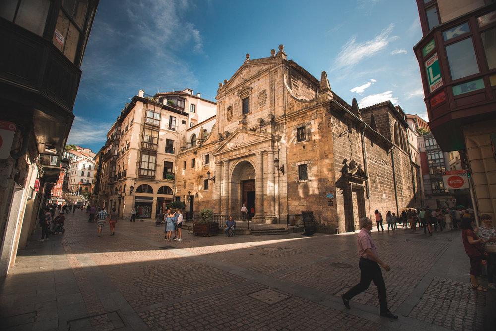 Churches in Bilbao