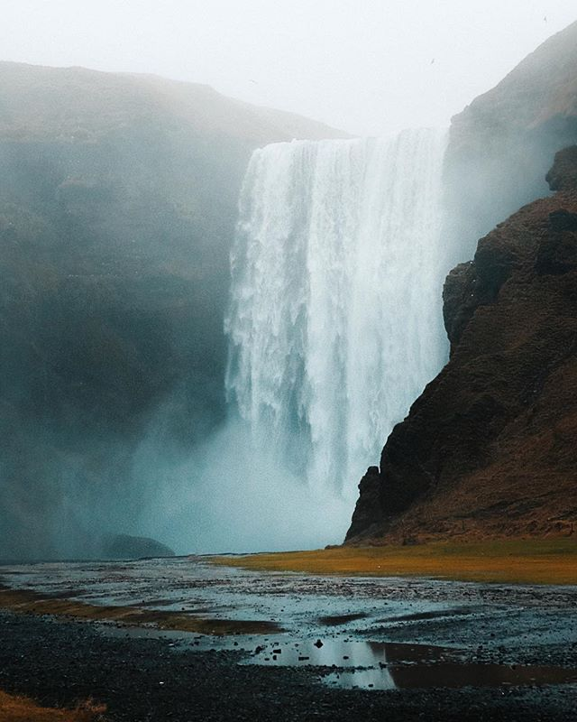 I got soaked in a storm today with friends and it reminded me of when @photoammon and I went to Iceland during one of the rainiest Autumns they've ever had ⛈ I think we're going to visit again this year at some point, but hopefully with better weather! 🤣 do you have any places you're dying to see again? . . . . . #aroundtheworldpix #ig_masterpiece #flashesofdelight #travelog #visualmobs #theglobewanderer #canonuk #exploringtheglobe #agameoftones  #keepitwild #wanderlust #keepexploring #neature #waterfall #chasingwaterfalls #waterfall #waterfallsfordays #lifeofadventure #everydayiceland #loves_iceland #igersiceland #whyiceland #inspiredbyiceland #aroundiceland