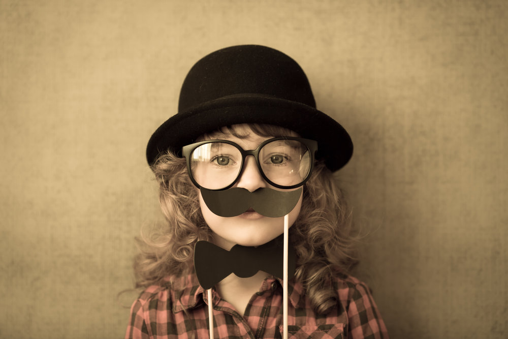 Copy of Funny hipster kid