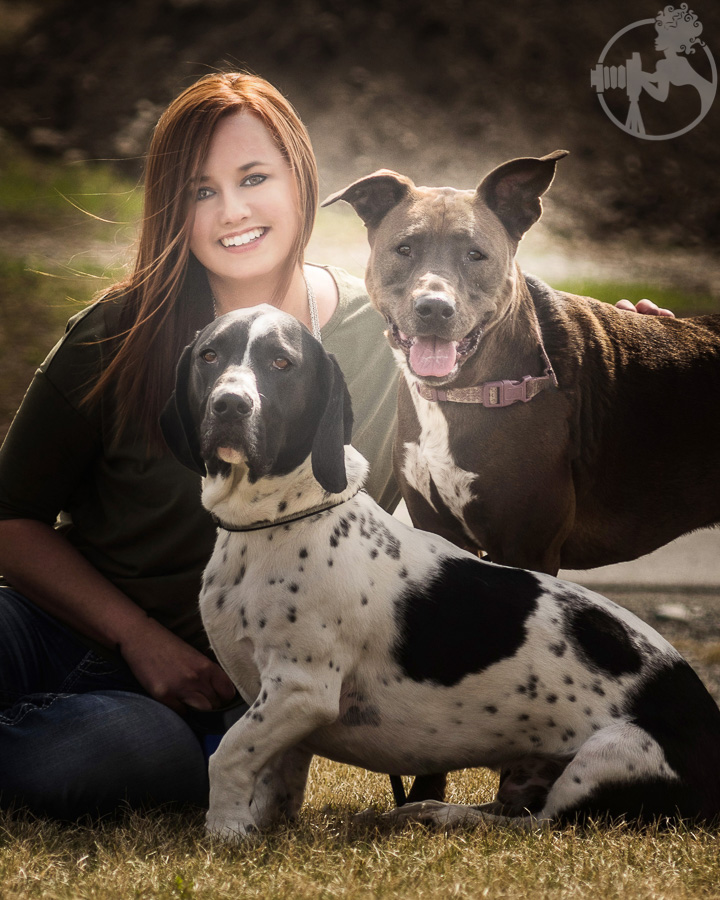 These two rescue dogs hit the Mama jackpot!