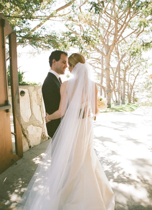 REAL WEDDING: CARATS & CAKE - Kristiana & Thales had a gorgeous ceremony at Wayfarers Chapel, followed by an intimate dinner reception at Mar'sel of Terranea Resort…MORE ›