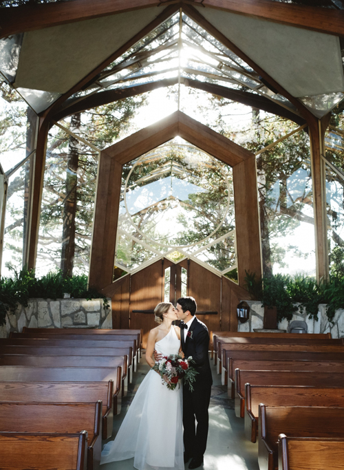 AUBREY & TYLER - Wayfarers Chapel | When I met Aubrey, I immediately fell in love with her personal and event style...MORE ›