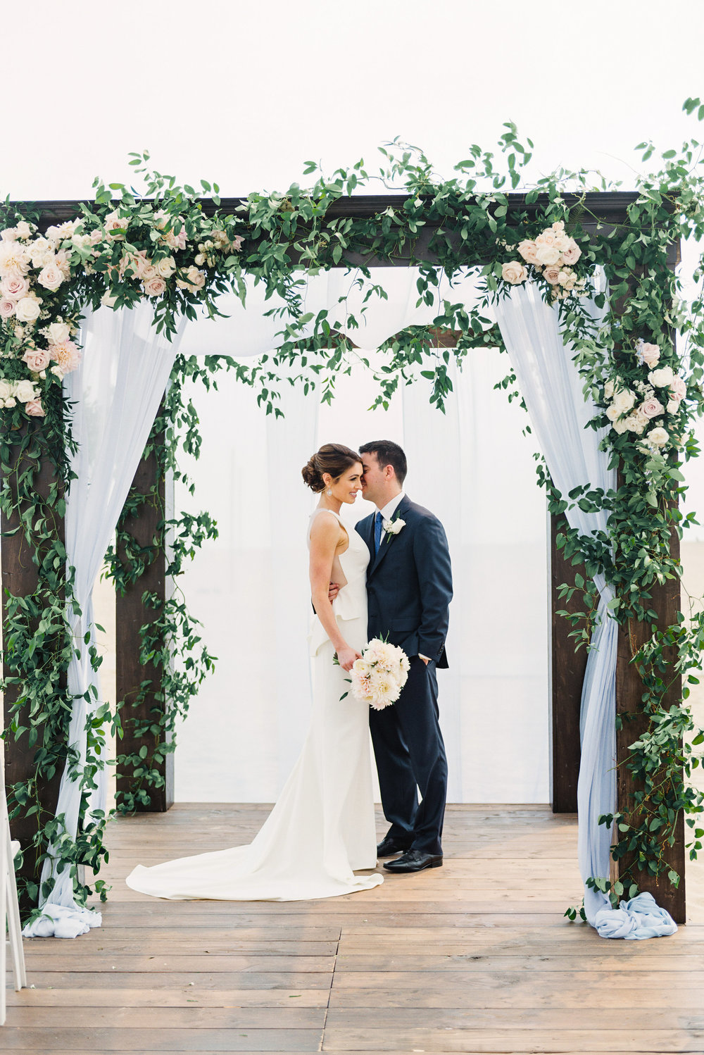 REAL WEDDING: STYLE ME PRETTY - Laura & Brian's wedding was a true delight to design from start to finish. Creating an effortless beach soiree with elegant, big-city bash entertainment and a twist was the goal from day one...MORE ›