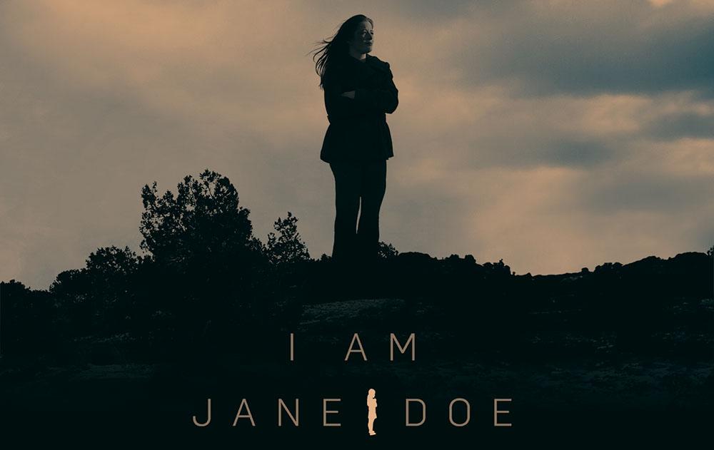 Poster for  I Am Jane Doe  film. Image courtesy of  Social Venture Partners.