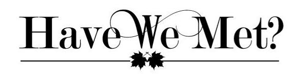Have We Met's logo