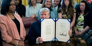 Trump signs F&S into law.