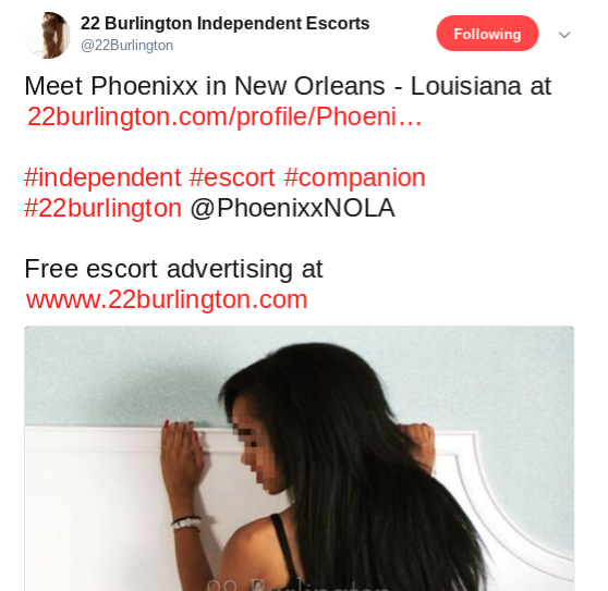 22 Burlington promo tweet since I advertise on their platform.