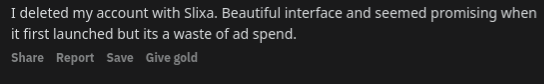 Waste of ad spend.
