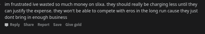 I've wasted so much money on Slixa.