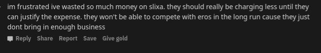 I've wasted so much money on Slixa.