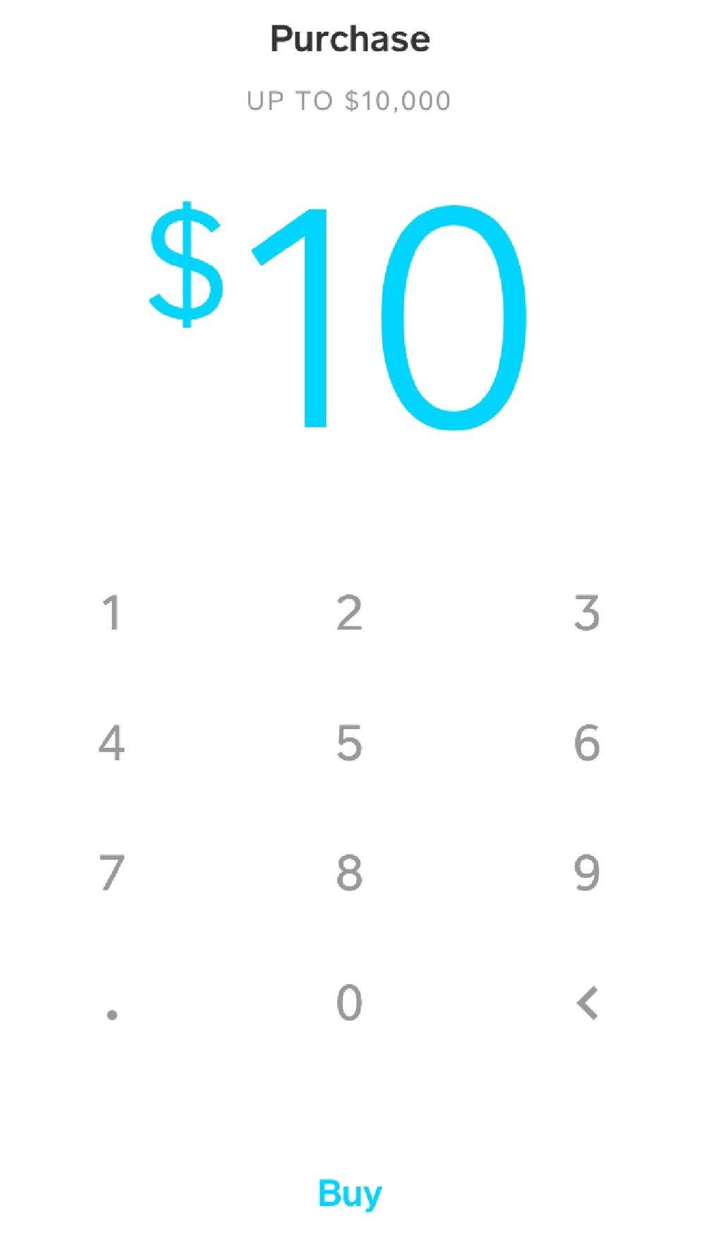 6. Buy Bitcoin