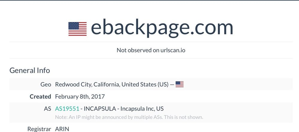 eBackpage USA IP
