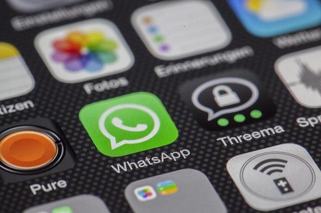 WhatsApp, a popular messenger app used worldwide, uses encryption. Image courtesy of  Pixabay.