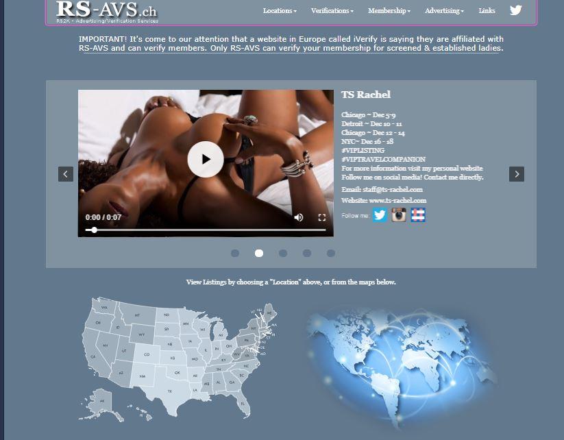 RS-AVS homepage.
