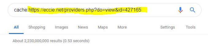 My bio page link highlighted after    cache: