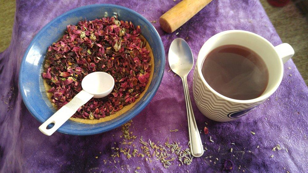 Signature Red Roseberry Tea - The Shamballa Tea Co.