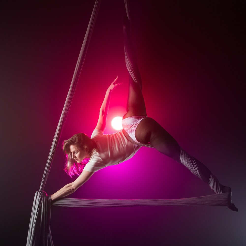Sunday, February 17 @ 12pm - Ambient Aerial Performance at Angel City Brewery for Broken Hearts Circus