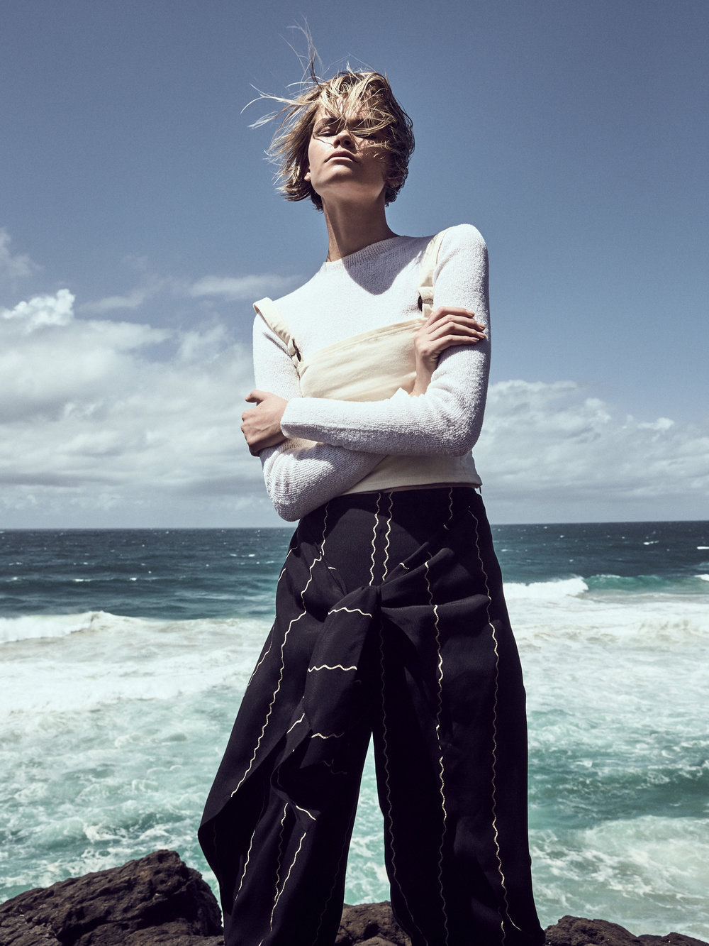 Top |  Zulu & Zephyr , Corset Top |  Yoli & Otis , Trousers |  Sass & Bide