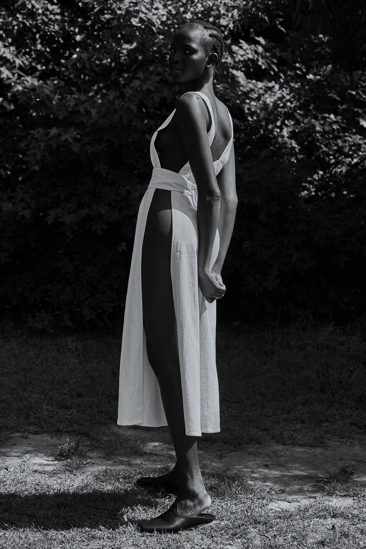 Dress |  Yoli + Otis , Shoes |  St Agni
