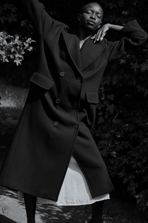 Coat |  Zara , Dress |  Yoli + Otis