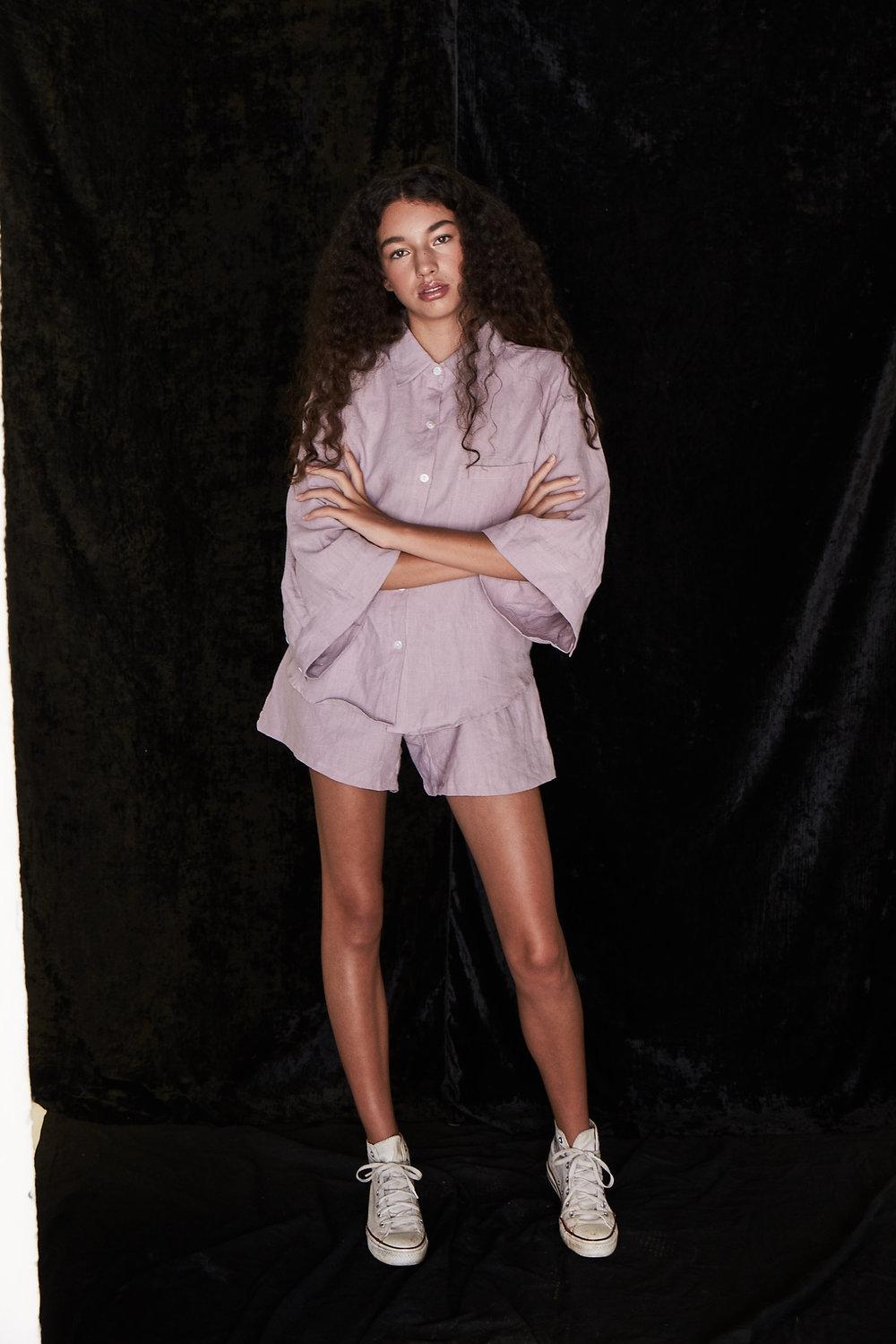 Shirt + Shorts |  Deiji Studios