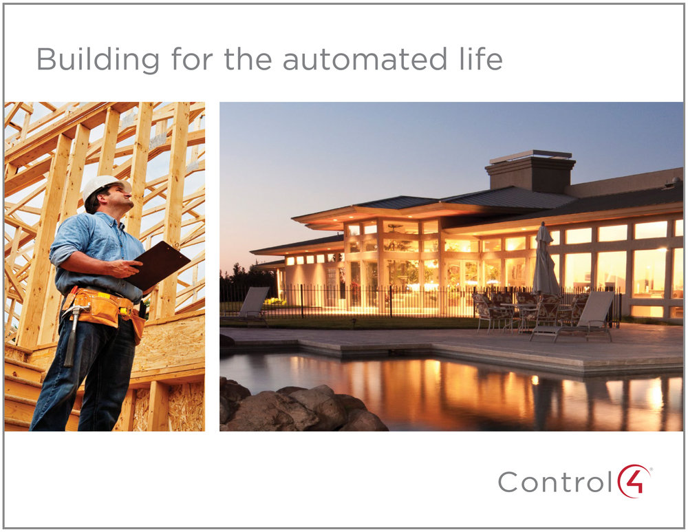 Control4 - Building for the Automated House