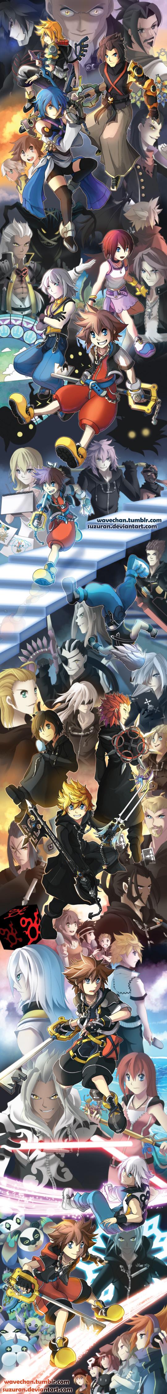 LOOOONG Kingdom Hearts Tribute