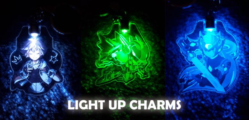 Light up Charms